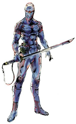 Grey fox from Metal Gear.
